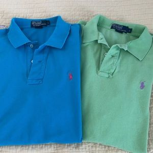 Men's Polo by Ralph Lauren Pullover Polo Shirts